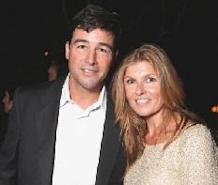 Kyle Chandler and Connie Britton are seen at Showtime's 2010 Emmy Nominees Party at Skybar at Mondrian in West Hollywood, Calif. on August 28, 2010  -- Getty Premium