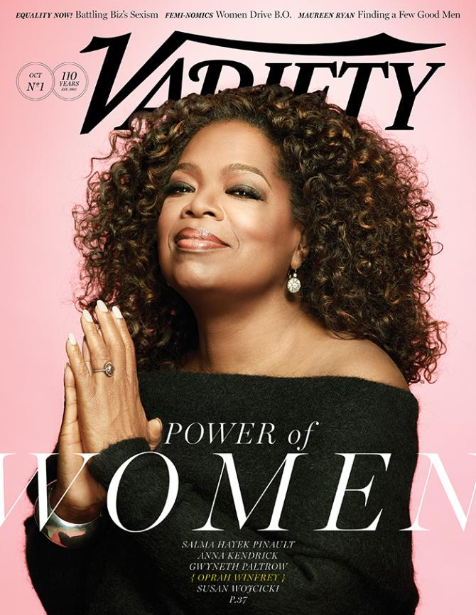Oprah Winfrey Works to Break the Poverty Cycle Through Education