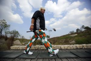 Daly returns to golf with a 68 in Shanghai