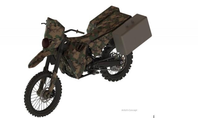 DARPA Funds SilentHawk Military Hybrid-Electric Motorcycle Prototype