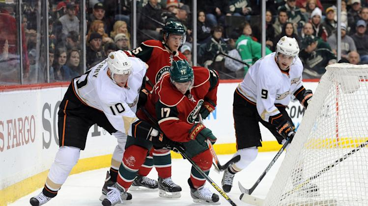 NHL: Anaheim Ducks at Minnesota Wild