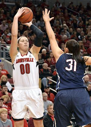 No. 1 UConn routs No. 3 Louisville, 68-48