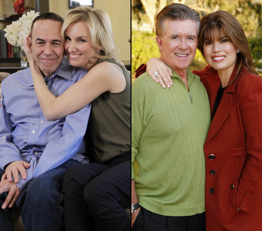 "CELEBRITY WIFE SWAP - ""Gilbert Gottfried / Alan Thicke"" - The wives of actor Alan Thicke and comedian Gilbert Gottfried trade homes for one week, on ""Celebrity Wife Swap,"" TUESDAY, MARCH 12 (8:00-9:00 p.m., ET) on the ABC Television Network. (ABC/Lou Rocco) GILBERT GOTTFRIED, DARA KRAVITZ"