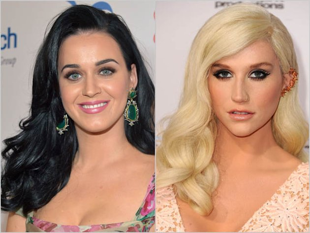 Katy Perry Ke$ha The American Music Awards