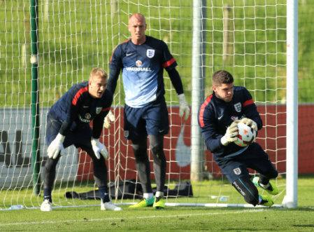 Soccer - FIFA World Cup Qualifying - Group H - England v Montenegro - England Training and Press Conference - St George's Park