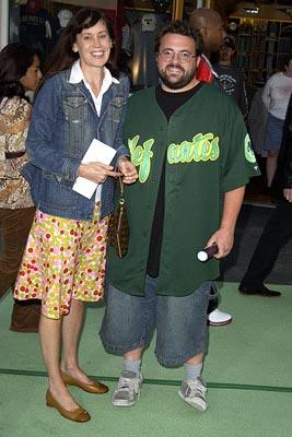 Premiere: Jennifer Schwalbach and Kevin Smith at the LA premiere of Universal's The Hulk - 6/17/2003