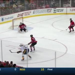 Cory Schneider Save on Colin Wilson (12:59/3rd)