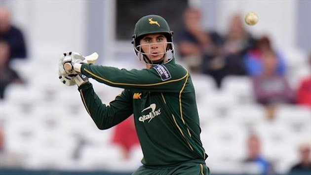 Alex Hales struck an impressive 72 from 41 deliveries