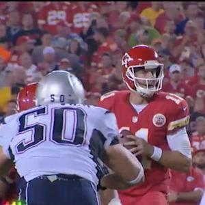 Kansas City Chiefs quarterback Chase Daniel replaces Alex Smith in Week 17