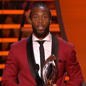 'NFL Honors': Arizona Cardinals wide receiver Larry Fitzgerald wins Art Rooney Award