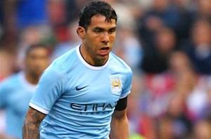 Manchester City agrees with Juventus on fee for Tevez