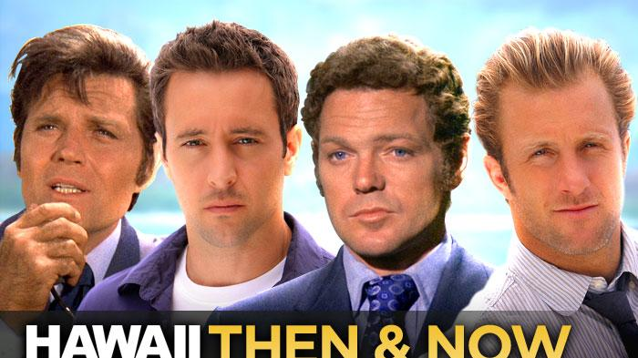 'Hawaii Five-0': Then & Now