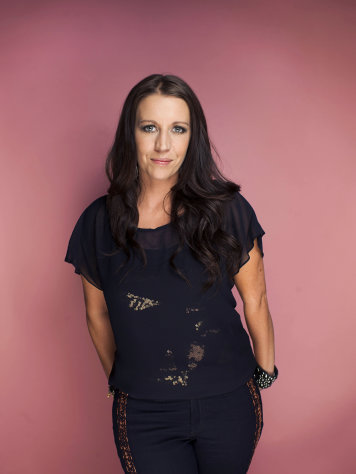 FILE - This Sept. 20, 2012 file photo shows Pattie Mallette, mother of Canadian singer-songwriter, producer, entrepreneur and actor, Justin Bieber, in New York. Mallette is an executive producer on an upcoming anti-abortion short film. The makers of Crescendo hope to raise $10 million for pregnancy centers at screenings worldwide starting Feb. 28, 2013. (Photo by Victoria Will/Invision/AP, File)