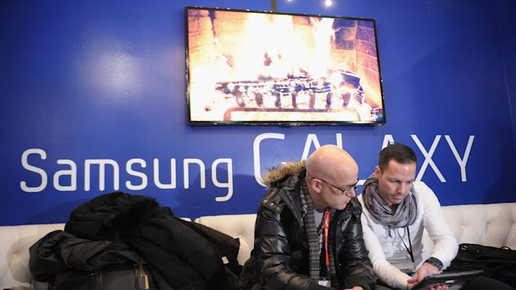 Samsung Galaxy Lounge At Village At The Lift 2013 - Day 1 - 2013 Park City