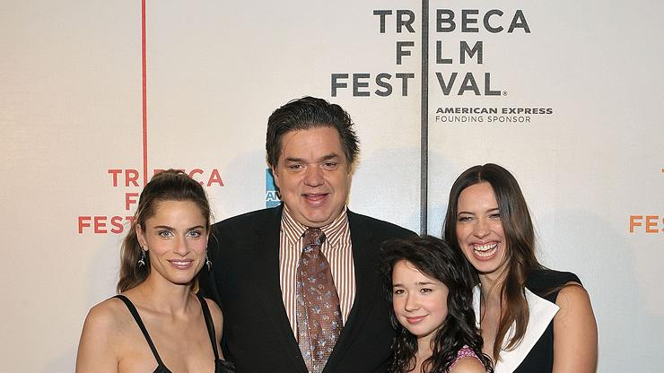 9th Annual Tribeca Film Festival 2010 Amanda Peet Oliver Platt Sarah Steele Rebecca Hall