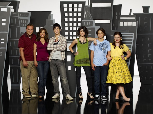 "The cast of ""Wizards of Waverly Place."""