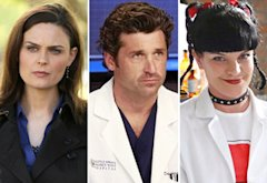 Emily Deschanel, Patrick Dempsey, Pauley Perrette | Photo Credits: Patrick McElhenney/Fox; ABC; Cliff Lipson/CBS