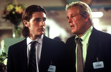 Trevor Morgan and Nick Nolte in THINKFilm's Off the Black