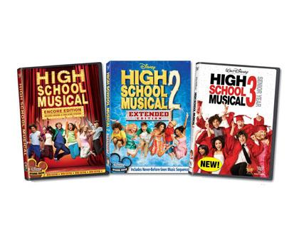 Best for Ages 7+: High School Musical