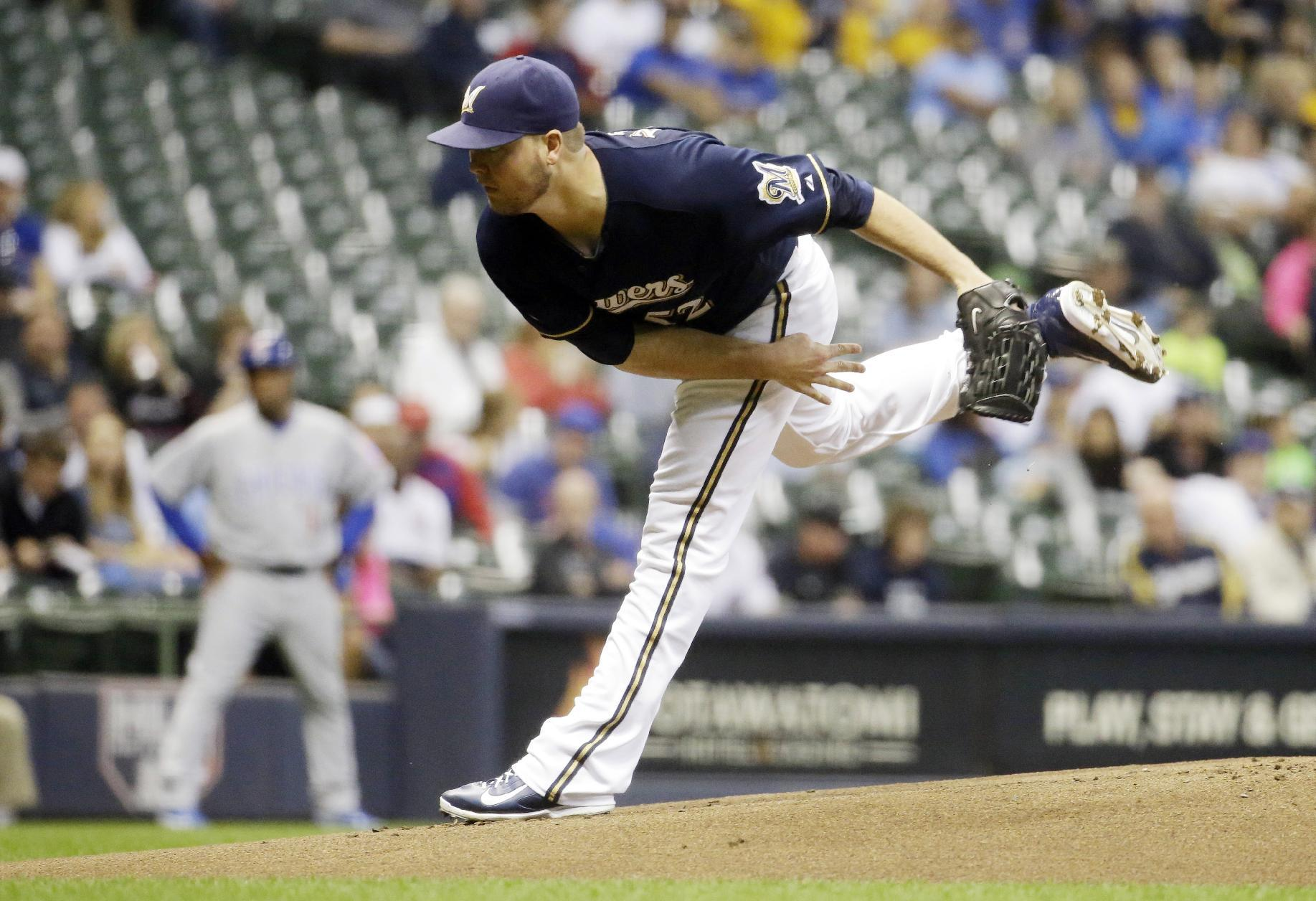 Bullpen perhaps in flux, but Brewers turn to Nelson to start