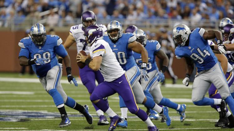 Vikings O-line issues leak into regular season