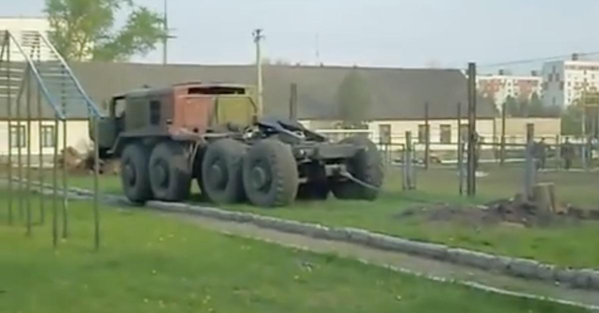 Army Truck vs Tree Stump (See What Happens Next)
