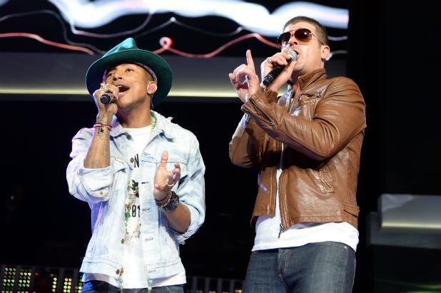 Robin Thicke, Pharrell Williams Seek New Trial in 'Blurred Lines' Copyright Case