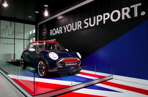 Mini Rocketman Concept London edition pictures and eyes-on. Cars, Car And GPS, BMW, Mini, concept cars 0