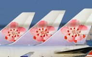 Boeing 747 China Airlines passenger jets are seen parked on the tarmac at Taoyuan International airport, in 2010. Taiwan's leading carrier plans to buy up to 10 fuel-efficient passenger aircraft at a price of several billion dollars, according to the company and media