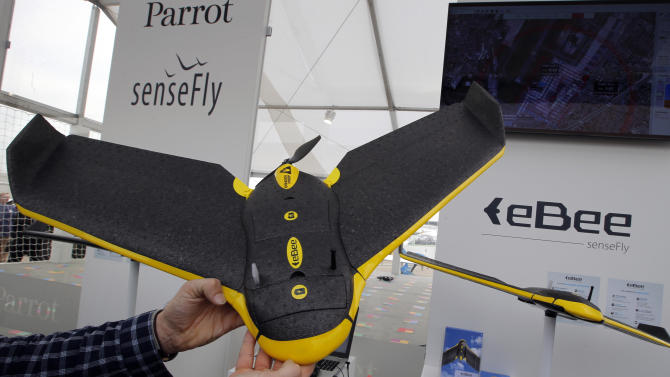 Unmanned aircraft struggle to shed 'drone' image