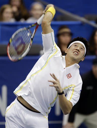 Kei Nishikori of Japan advances to Memphis final