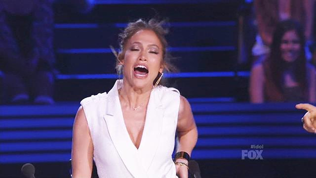 J.Lo Whips 'Idol' Judges and Fans Into a Frenzy