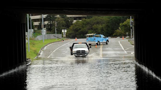 Third strong storm in week drenches N. Calif.