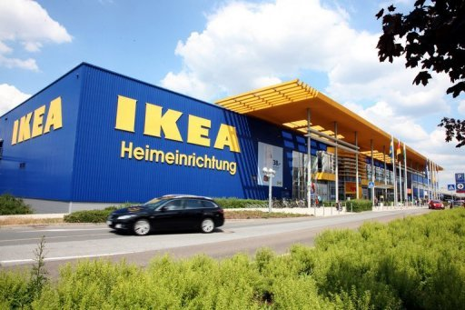 &lt;p&gt;A car drives past an Ikeastore in Dresden,eastern Germany. The Swedish furniture giant has admitted that some of its suppliers used forced labour in former Communist East Germany and expressed &quot;deep regret&quot; that its controls were less strict at the time.&lt;/p&gt;