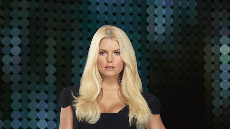 "Jessica Simpson in ""Fashion Star."""
