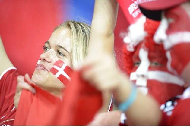Danish Fans AFP/Getty Ima …