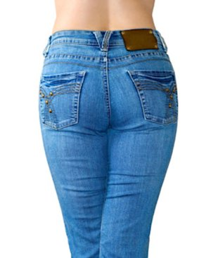 Buy your low-rise jeans a size up.