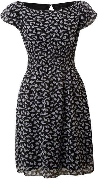 Rabbit Print Dress, $43
