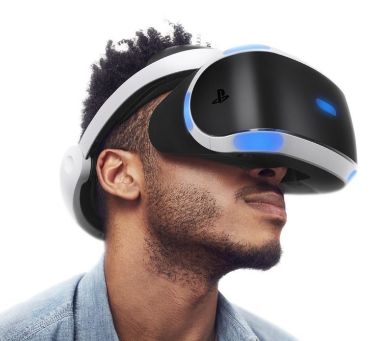 The PlayStation VR is comfortable.