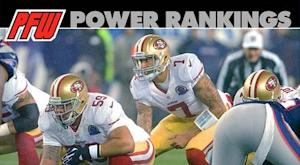 Power rankings: 49ers vault to top spot