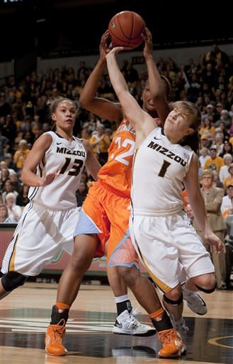 Missouri women upset No. 9 Tennessee 80-63