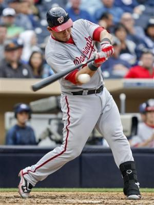 Zimmermann, Nationals beat Padres 7-2