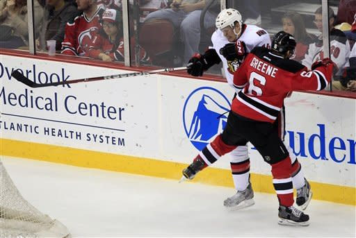 Gionta's 1st goal gives Devils' 6th straight win