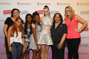 "ADDING MULTIMEDIA Staples and Katy Perry ""Make Roar Happen"" for Teachers in Manhattan"