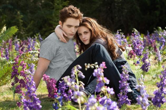 Robert Pattinson and Kristen Stewart --