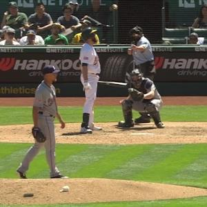 Rollins' first career strikeout