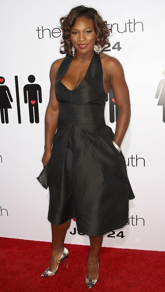 The Ugly Truth LA Premiere 2009 Serena Williams