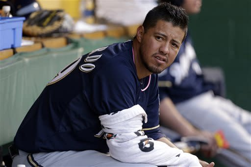 Rodriguez, Pirates silence Brewers 3-1