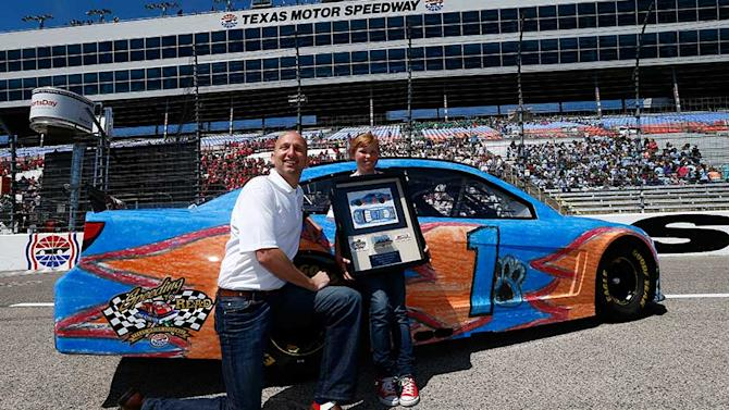 BECK ELEMENTARY?S THOMASON WINS ?DESIGN A DIE-CAST? COMPETITION; PAINT SCHEME UNVEILED AT TEXAS MOTOR SPEEDWAY