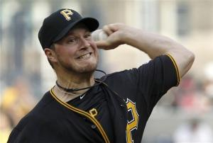 Bedard pitches Pirates to 4-2 win over Royals